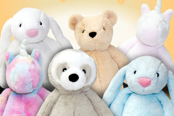 Resoftables are super soft and cuddly plush toys made from 100% household plastic waste! Each 35cm Resoftables toy is made from approximately 11 recycled plastic bottles.