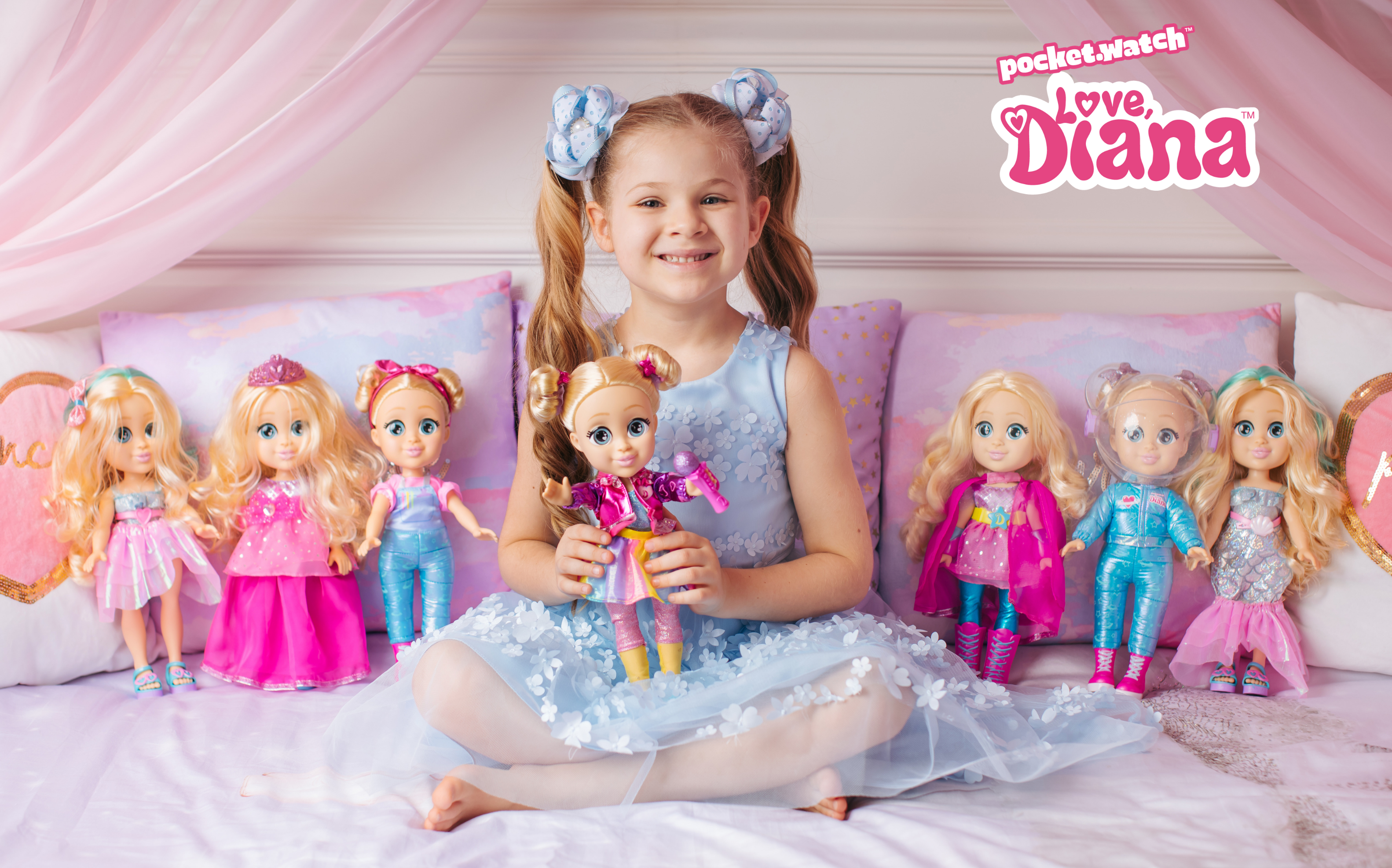 Our Love Diana dolls are here! Shop the range at Kmart, Big W, Target and other leading toy retailers.